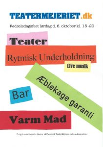 Read more about the article TeaterMejeriets fødselsdag