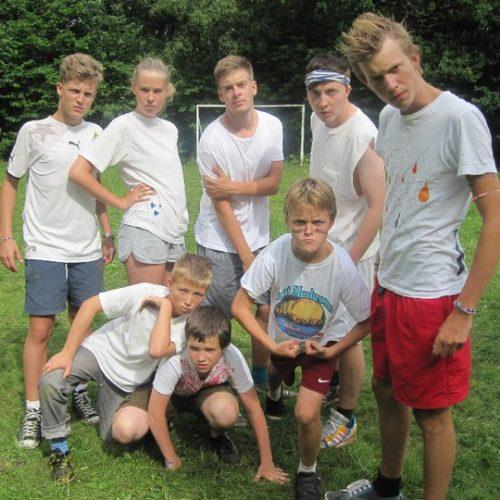 Sommerlejr 2010 fodbold
